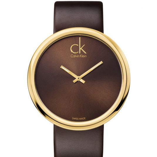calvin klein watches gold tone tuijn juwelier en diamantair. Black Bedroom Furniture Sets. Home Design Ideas