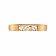 Aller Spanninga Memoire Ring 3 x 0,10ct 11155