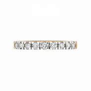 Aller Spanninga Memoire Ring 9 x 0,05ct 11155
