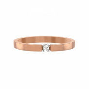 Aller Spanninga Memoire Ring 1 x 0,03 ct 11155
