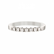 Aller Spanninga Memoire Ring 7 x 0,03 ct. 11155