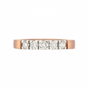 Aller Spanninga Memoire Ring 5 x 0,10ct. 11155