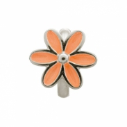Endless Jewelry Coral Emaille Flower bedel